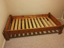 Twin bed frame*