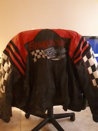 red and black Snap-on jacket