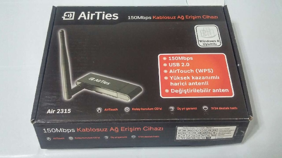 AirTies Air2315 Wireless Adapter New