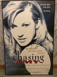 """""""Chasing Amy"""" signed and framed movie poster Minneapolis, 55430"""