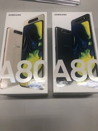 Brand new Samsung A80 (128GB)- Unlocked- Sold By Store  Toronto, M3H 1K4