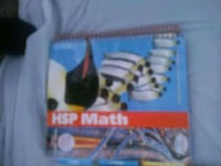 Teacher's edition HSP Math book  Washington, 20005
