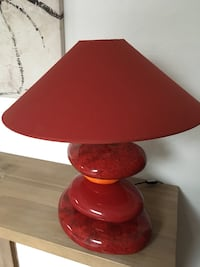 lampe de table rouge et marron Briis-sous-Forges, 91640