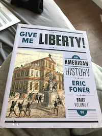 College Textbook: Give Me Liberty Vol. 1