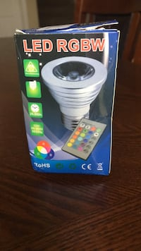 LED bulb with remote control..