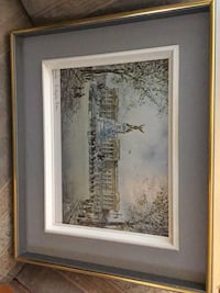 Framed picture of Buckingham Palace and the changing of the guards Dorval, H9S 1G2