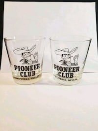 Vintage pioneer club glasses  Riverside, 92504