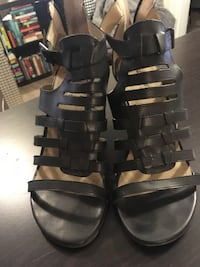 Black Wedge Sandal  Toronto, M6N 2Y4
