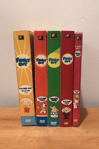 Family Guy DVD's Seasons 1-6 Frederick, 21702
