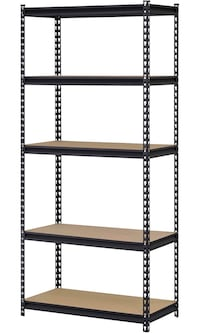 Steel Storage Boltless Muscle Rack, 5 Adjustable Shelves, 3200 lb. Capacity San Gabriel, 91775