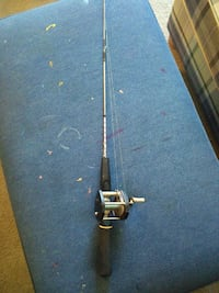 1950-1960.s ice fishing pole still works