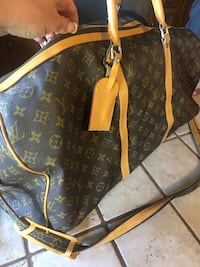 brown Louis Vuitton leather tote bag Lafayette, 80026