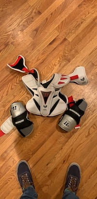 Chest and Elbow Lacrosse Pads Aurora, 80013