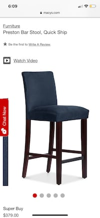 Preston bar stools, brand new still in box. Regular price is $390 Redondo Beach, 90277