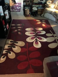 red and white area rug Winnipeg, R2J 0M3
