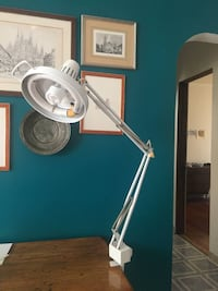 2 Clamp Mounting Combination Lamp with Adjustable Metal Arm $25 each Chicago