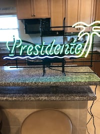 Neon bar light PRESIDENTE 18 tall 32 long w/ dimmer switch Fort Myers, 33919