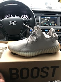 Yeezy 8.5 only wore 2 times but still fresh original box bought them from Footaction the most less I'll take is 240 Jessup, 20794