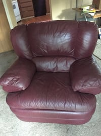 Leather recliner chair Arvada, 80003