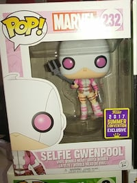 Funko pop Vinyl exclusive marvel gwenpool Dollard-Des Ormeaux, H9B 2X3