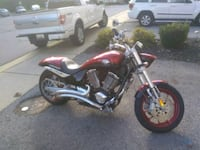 red and black cruiser motorcycle Bowie, 20720
