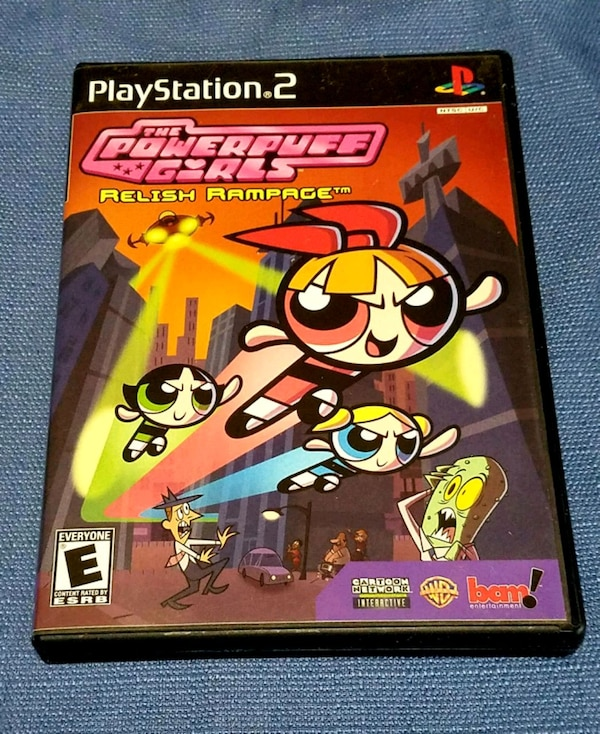 Sold The Powerpuff Girls Relish Rampage Ps2 Complete In Lake