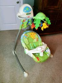 Fisher Price Rainforest Swing w/ swing away mobile Holly Springs, 27540