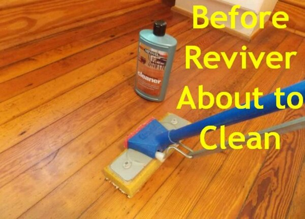 Used Minwax Hardwood Floor Reviver 2 Quarts Cleaner For Sale In