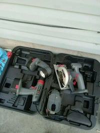 gray and black power tool set Council Bluffs, 51501
