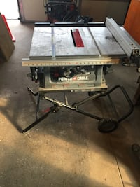 """Porter Cable 10"""" table saw 150 mi"""