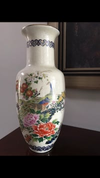 Vase Approximately 12 inches tall