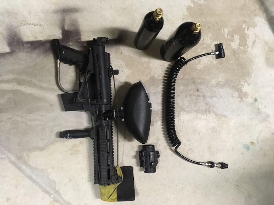 Tipmann Sierra One marker and accessories