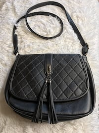 quilted black leather crossbody bag Fairfield, 94533