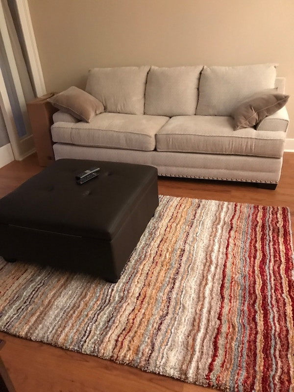 Beige couch - perfect condition
