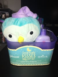 Brand new Johnson's goodnight kisses baby bath set  Kettering, 45440