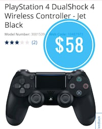 === Brand New PS4 dual shock Wireless controller  Vancouver, V5P 4M4