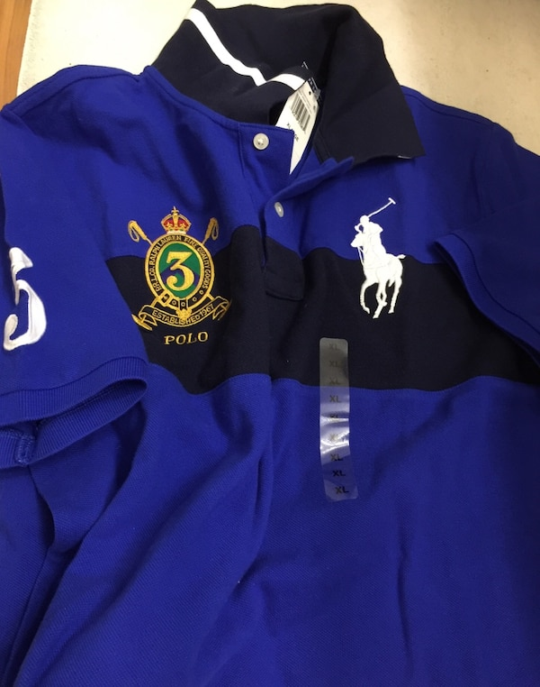 700af9c4 Used Blue ralph lauren polo collared shirt for sale in Las Vegas - letgo