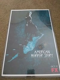 American Horror Story Poster Signed by Evan Peters York, 17406