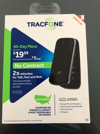 Tracfone A206G  - Brand new