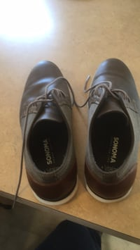 pair of black leather dress shoes 134 mi