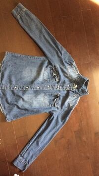 Girls size 14/16 fake jean long sleeve  St. Thomas, N5P 0A1