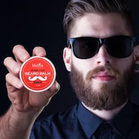 (NEW) BEARD BALM Leave-in Conditioner All Natural Friendly Organic Oils & Butters Shaving Cream 60g Toronto
