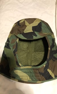 Green and black camouflage hat/hood Orlando, 32808