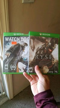 Xbox one games, Ryse and WatchDogs East Los Angeles, 90022