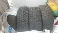 4 Used Goodyear Nordic Winter tires Montréal, H3H 1H3