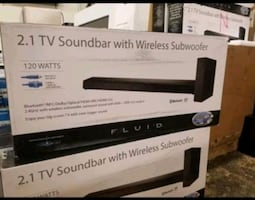 SOUNDBAR W/WOOFER 2.1 120 WATT