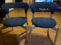 Blue Wooden Dining Chairs  New Orleans, 70112