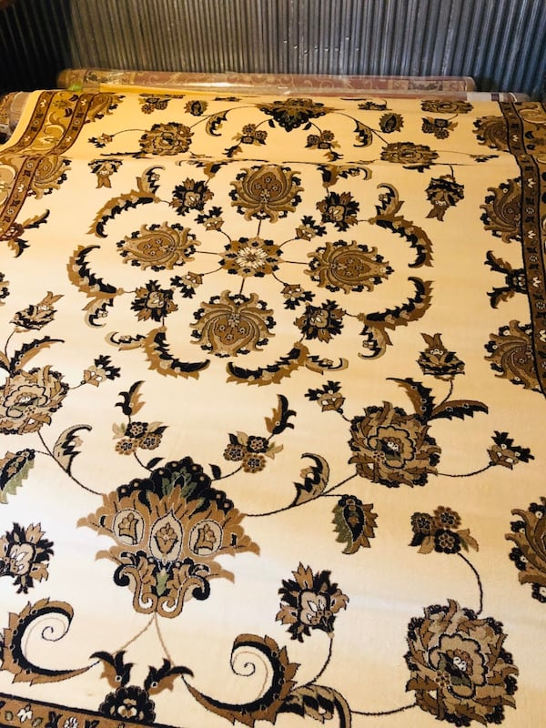 New large rug size 8x11nice beige tan carpet Persian style rugs 0f5ee8ed-0978-4fdb-a86a-bed156c7cf95