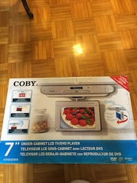 COBY Under-Cabinet LCD TV/DVD Player Toronto, M4S 2J9