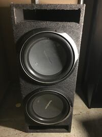 "2 12"" rockford punch subs Mississauga"